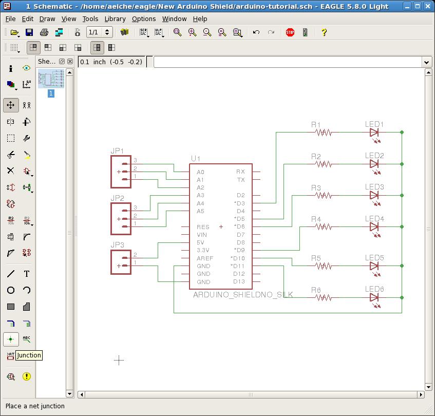 A Beginner\'s guide to making an Arduino Shield PCB | Aaron Eiche