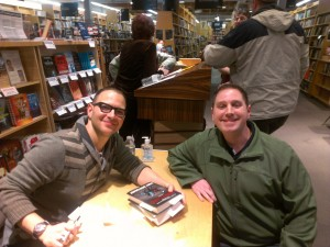 Me and Cory Doctorow